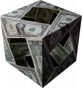 George Washington MoneyCube