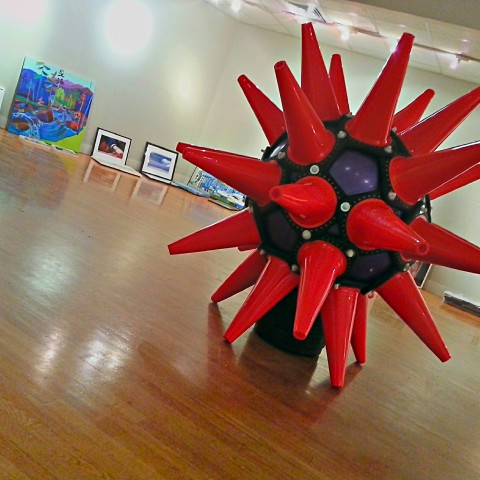 HedgeCone is ready for the COOL Show at South Shore Art Center