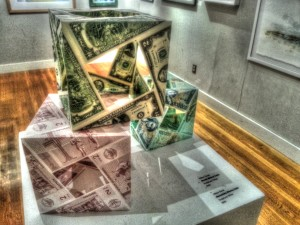 Moneycube is the ultimate deutilizator of the most powerful symbol of humankind - money.