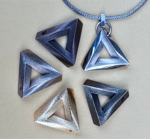 ImpossiblePendant In different materials