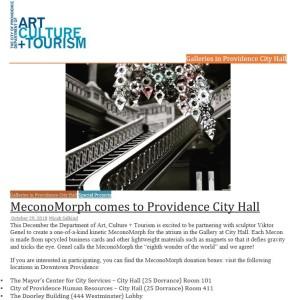 MeconoMorph at City Hall